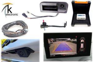 AUDI Q2 GA Rückfahrkamera Nachrüstpaket mit Reinigungsfunktion