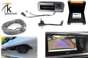 AUDI Q3 F3 Rückfahrkamera Nachrüstpaket mit Reinigungsfunktion
