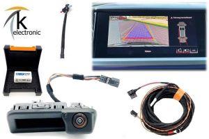 AUDI Q4 e-tron Rückfahrkamera Nachrüstpaket mit dynamischen Hilfslinien