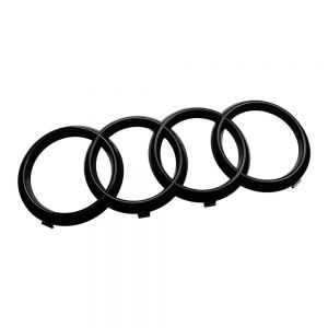 Audi Ringe schwarz vorne für Audi Q7 4M