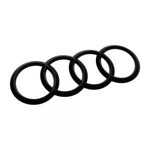 Audi Ringe hinten schwarz für Audi Q3 F3