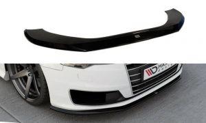 Front Diffusor / Front Splitter / Cup Schwert / Frontansatz Audi A6 Ultra C7 FL von Maxton Design