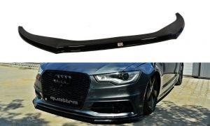 Front Diffusor / Front Splitter / Cup Schwert / Frontansatz V.2 für Audi S6 / A6 S-Line C7 von Maxton Design