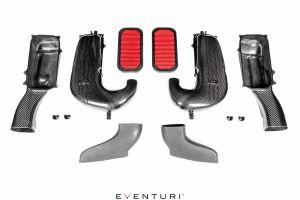 Eventuri Carbon Ansaugsystem für Mercedes W205 C63(S) AMG - Original Turbos