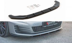 Front Diffusor / Front Splitter / Cup Schwert / Frontansatz V.1 für VW Golf 7 GTI von Maxton Design
