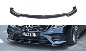 Front Diffusor / Front Splitter / Cup Schwert / Frontansatz V.2 für Mercedes E-Klasse W213 Coupe (C238) AMG-Line von Maxton Design