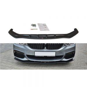 Front Diffusor / Front Splitter / Cup Schwert / Frontansatz V.1 für BMW 5er G30 / G31 M-Paket von Maxton Design