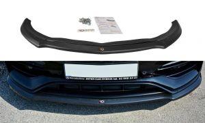 Front Diffusor / Front Splitter / Cup Schwert / Frontansatz V.1 für Mercedes Benz A-Klasse W176 AMG Facelift von Maxton Design