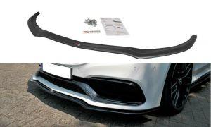 Front Diffusor / Front Splitter / Cup Schwert / Frontansatz V.1 für Mercedes C-Klasse C205 63 AMG Coupe von Maxton Design