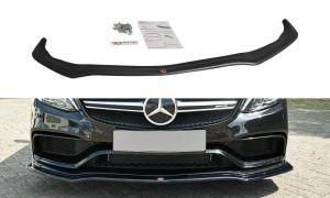 Front Diffusor / Front Splitter / Cup Schwert / Frontansatz V.1 für Mercedes C-Klasse S205 63 AMG T-Model  von Maxton Design