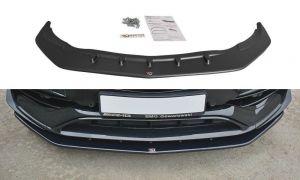 Front Diffusor / Front Splitter / Cup Schwert / Frontansatz V.1 für Mercedes CLA A45 AMG C117 Facelift von Maxton Design