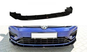 Front Diffusor / Front Splitter / Cup Schwert / Frontansatz V.1 für VW GOLF 7 R von Maxton Design