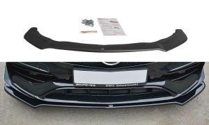 Front Diffusor / Front Splitter / Cup Schwert / Frontansatz V.2 für Mercedes CLA A45 AMG C117 Facelift von Maxton Design