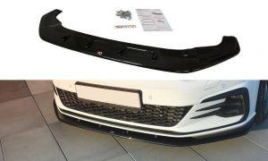 Front Diffusor / Front Splitter / Cup Schwert / Frontansatz V.1 für VW Golf 7 GTI Facelift von Maxton Design