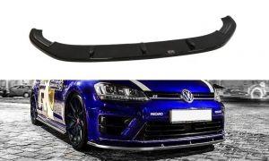 Front Diffusor / Front Splitter / Cup Schwert / Frontansatz für VW GOLF 7 R von Maxton Design