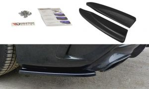 Seitliche Heck Diffusor Erweiterung für Mercedes CLA A45 AMG C117 Facelift von Maxton Design