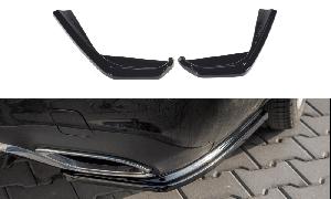 Seitliche Heck Diffusor Erweiterung für Mercedes E-Klasse E43 AMG / AMG-Line W213 von Maxton Design