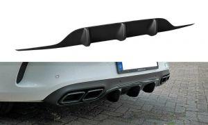 Heck Diffusor Erweiterung für Mercedes C-Klasse C205 63 AMG Coupe von Maxton Design
