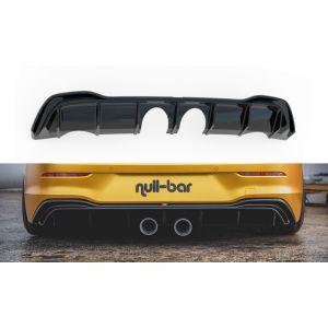 Heck Diffusor im Set mit Auspuff für VW Golf 8 für R32 Look von Maxton Design
