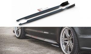 Seitenschweller Erweiterung für Audi S6 / A6 S-Line C7 FL von Maxton Design