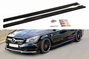 Seitenschweller Erweiterung für Mercedes CLA 45 AMG C117 / A45 AMG W176 (vor Facelift) von Maxton Design