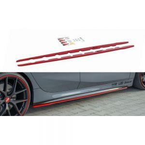 Hochwertige, formschöne und passgenaue Seitenschweller Erweiterung V.2 für BMW 1er F40 M-Paket / M135i von Maxton Design