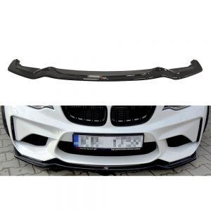 Front Diffusor / Front Splitter / Cup Schwert / Frontansatz für BMW M2 F87 Coupe von Maxton Design