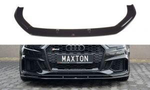 Front Diffusor / Front Splitter / Cup Schwert / Frontansatz V.1 für Audi RS3 8V Facelift von Maxton Design
