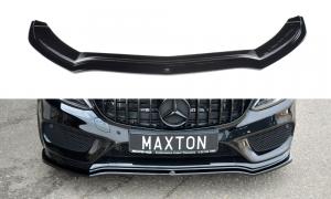 Front Diffusor / Front Splitter / Cup Schwert / Frontansatz V.1 für Mercedes Benz C-Klasse C43 AMG W205 von Maxton Design