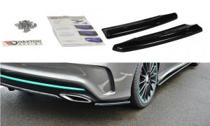 Seitliche Heck Diffusor Erweiterung für Mercedes Benz CLA C117 AMG-Line Facelift von Maxton Design