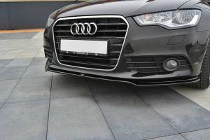 Front Diffusor / Front Splitter / Cup Schwert / Frontansatz für Audi A6 4G von Maxton Design