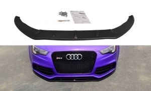 Front Diffusor / Front Splitter / Cup Schwert / Frontansatz für Audi RS5 8T /8T FL von Maxton Design