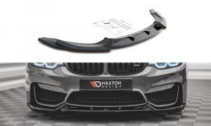Front Diffusor / Front Splitter / Cup Schwert / Frontansatz V.2 für BMW M4 F82 von Maxton Design