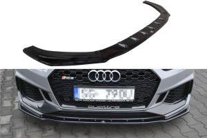 Front Diffusor / Front Splitter / Cup Schwert / Frontansatz V.1 für Audi RS5 5F Coupe Sportback S-Line2016 - von Maxton Design