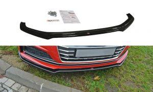 Front Diffusor / Front Splitter / Cup Schwert / Frontansatz V.1 für Audi A5 / S5 5F Coupe Sportback S-Line2016 - von Maxton Design