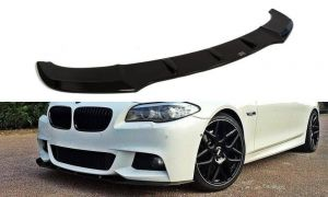 Front Diffusor / Front Splitter / Cup Schwert / Frontansatz V.1für BMW 5er F10/F11 mit M-Paket von Maxton Design