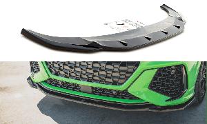 Front Diffusor / Front Splitter / Cup Schwert / Frontansatz V.2 für Audi RSQ3 (F3) von Maxton Design