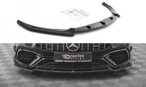 Front Diffusor / Front Splitter / Cup Schwert / Frontansatz V.2 für Mercedes-AMG CLA 45 AERO C118 von Maxton Design