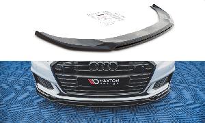 Front Diffusor / Front Splitter / Cup Schwert / Frontansatz V.3 für Audi A6 S-Line / S6 C8 von Maxton Design