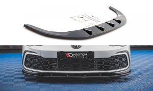 Front Diffusor / Front Splitter / Cup Schwert / Frontansatz für VW Golf 8 GTI von Maxton Design