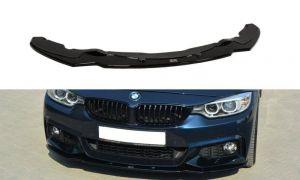 Front Diffusor / Front Splitter / Cup Schwert / Frontansatz V.1 für BMW 4er F32 M-Paket von Maxton Design