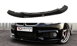 Front Diffusor / Front Splitter / Cup Schwert / Frontansatz V.2 für BMW 4er F32 M-Paket (GTS-LOOK) von Maxton Design