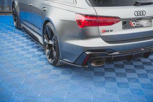 Seitliche Heck Diffusor Erweiterung V.2 für Audi RS6 C8 von Maxton Design