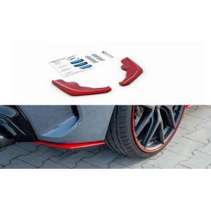 Seitliche Heck Diffusor Erweiterung V.2 für BMW 1er F40 M-Paket von Maxton Design