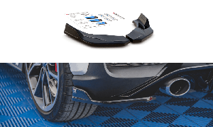 Seitliche Heck Diffusor Erweiterung V.4 für Hyundai I30 N MK3 Hatchback/Fastback von Maxton Design