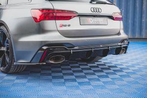 Heck Diffusor für Audi RS6 C8 von Maxton Design