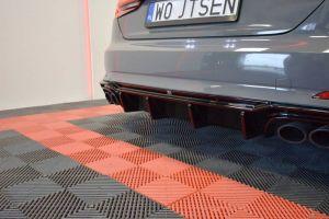 Hochwertiger, formschöner und passgenauer Heck Diffusor für Audi S5 F5 Coupe / Sportback von Maxton Design