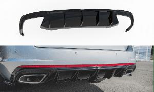 Heck Diffusor V.2 für Skoda Octavia RS MK3 Benziner von Maxton Design
