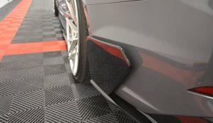 Heck Diffusor Erweiterung Wings Flaps für Audi S5 F5 Coupe von Maxton Design