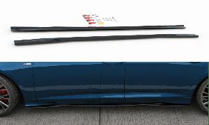 Seitenschweller Erweiterung für Audi A6 S-Line / S6 C8 von Maxton Design